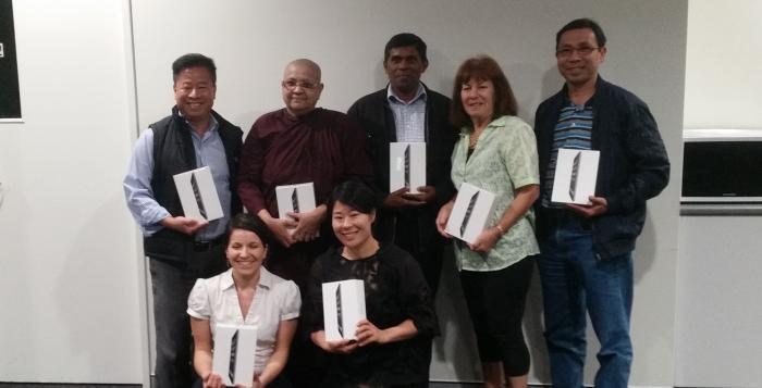 7 iPads 7 happy members